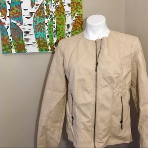 Dress Barn Cream Jacket